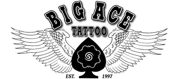 Big Ace Tattoo Custom